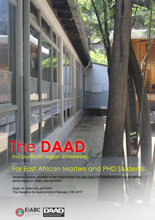 DAAD In-Country/In-Region Scholarships for Postgraduates